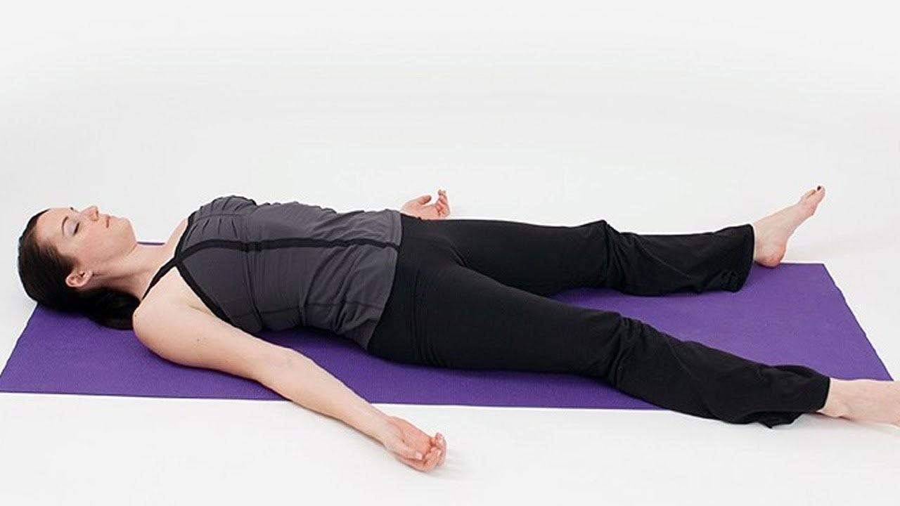 Tư thế yoga thư giãn (Savasana)