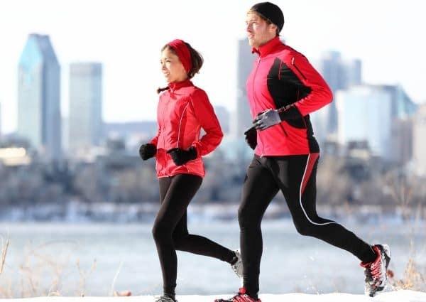 quy tắc tập thể dục vào mùa đông