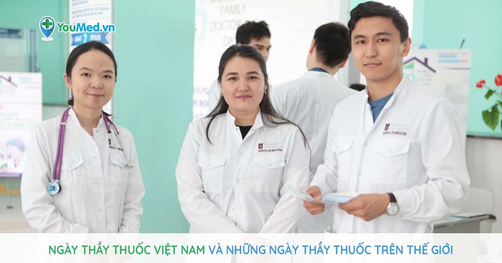 Ngày Thầy thuốc Việt Nam và những ngày Thầy thuốc trên thế giới