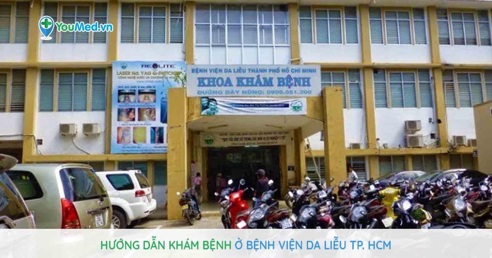 Hướng dẫn khám bệnh tại bệnh viện Da Liễu TP. HCM