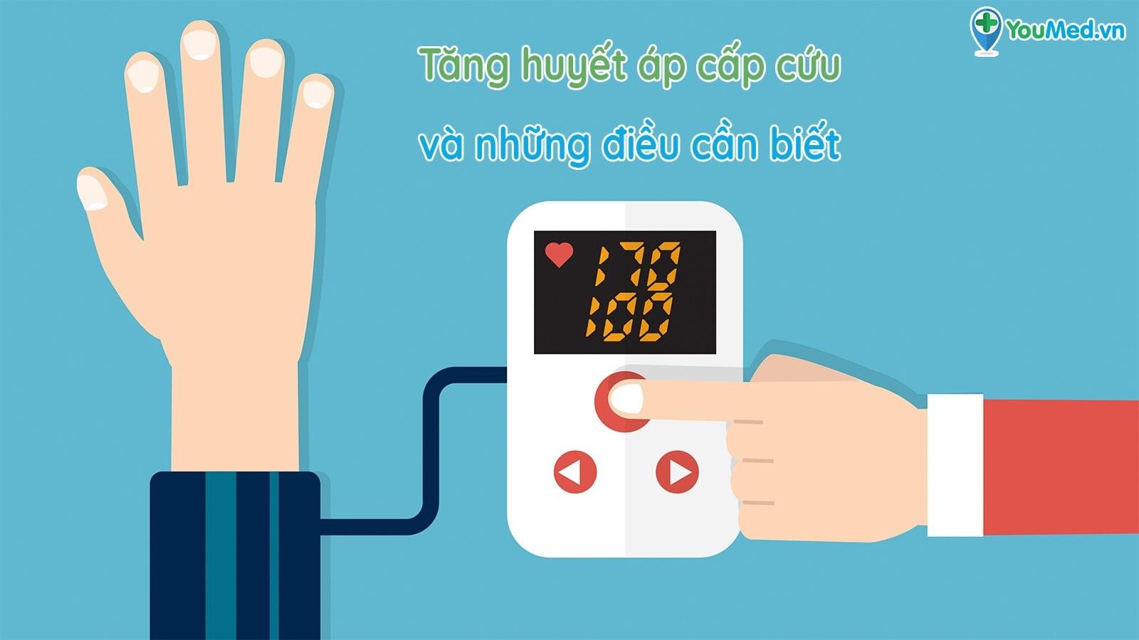 Tăng huyết áp cấp cứu và những điều cần biết