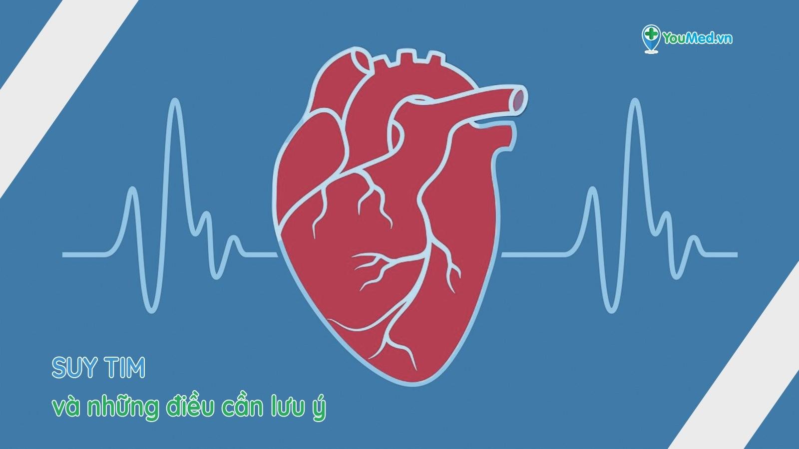 Suy tim: Trạm dừng cuối cùng của các bệnh về tim