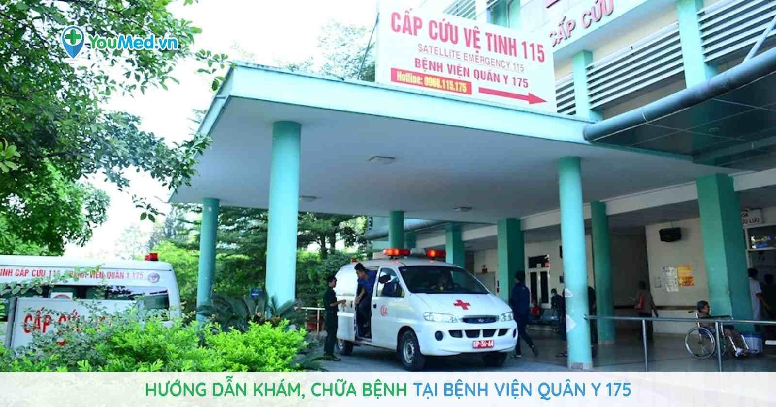 Hướng dẫn khám, chữa bệnh tại Bệnh viện Quân y 175