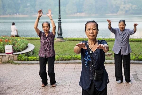 Vận động giúp cơ thể khỏe mạnh hơn