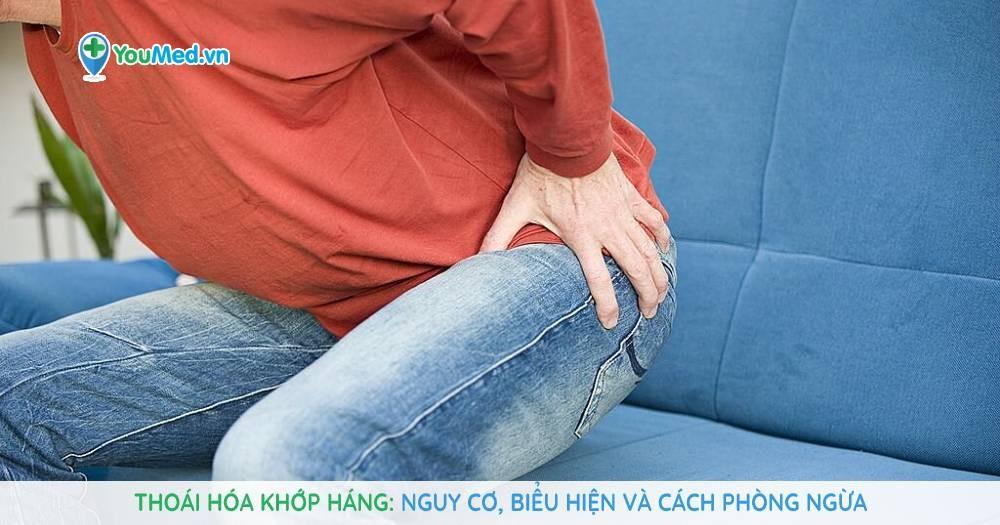 Thoái hóa khớp háng: Nguy cơ, biểu hiện và cách phòng ngừa