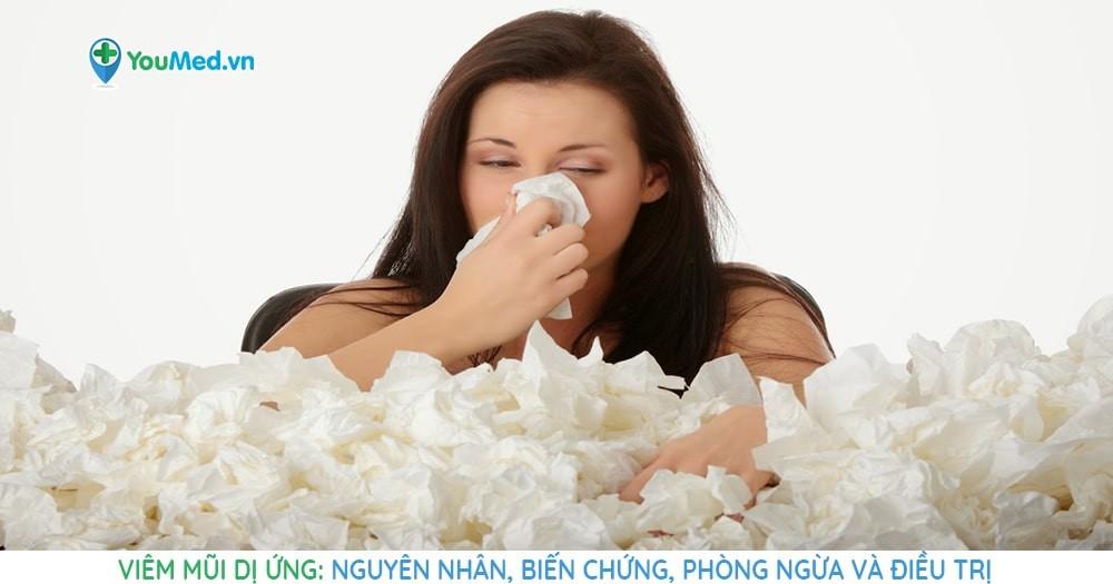 Viêm mũi dị ứng: Nguyên nhân, biến chứng, phòng ngừa và điều trị
