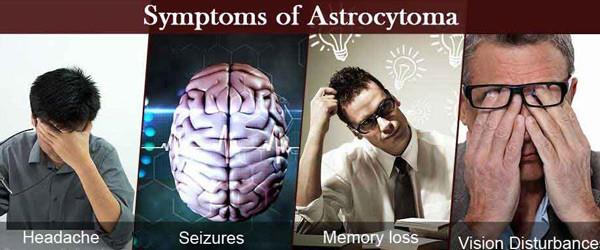 Một số triệu chứng chính: đau đầu, động kinh, giảm trí nhớ, rối loạn thị lực