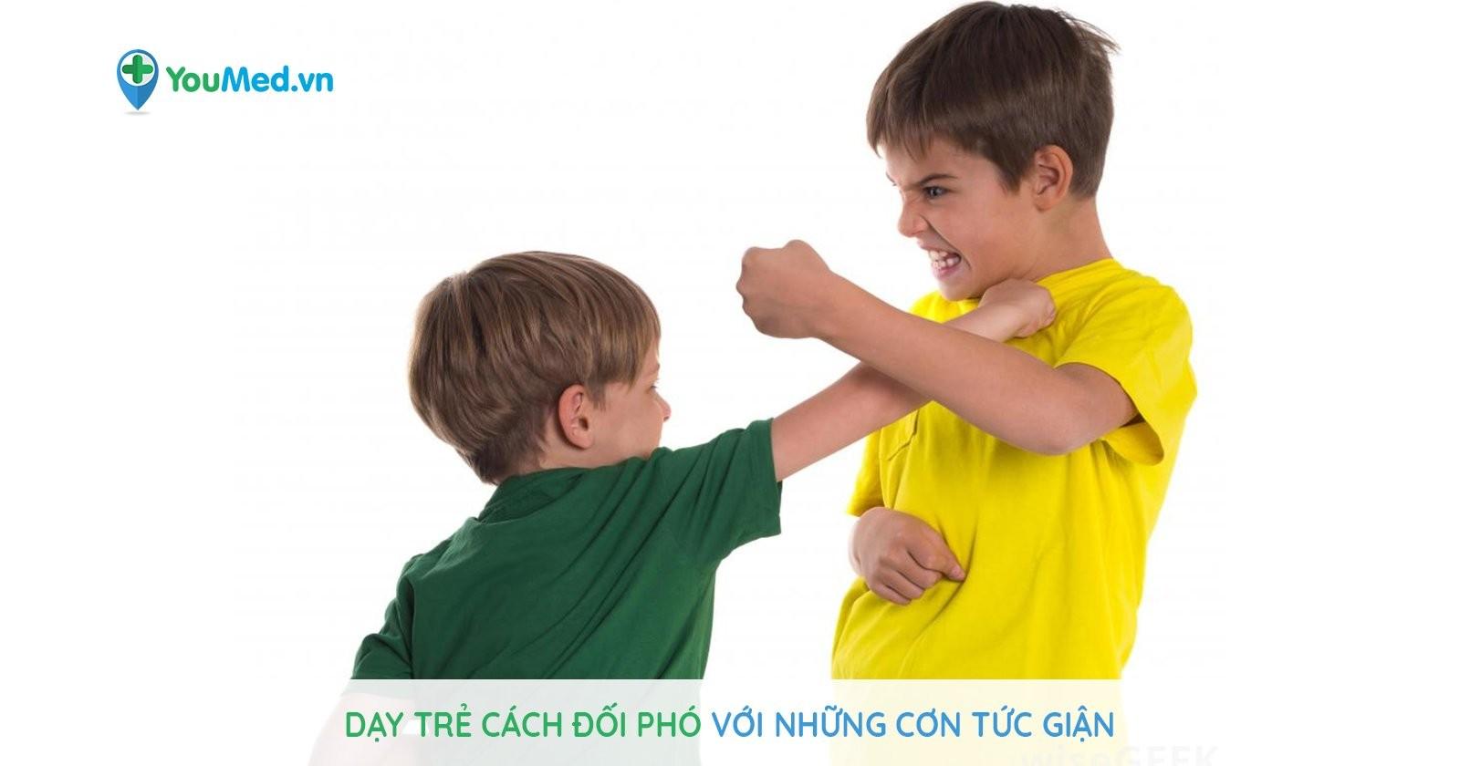 Dạy trẻ cách đối phó với những cơn tức giận thường ngày