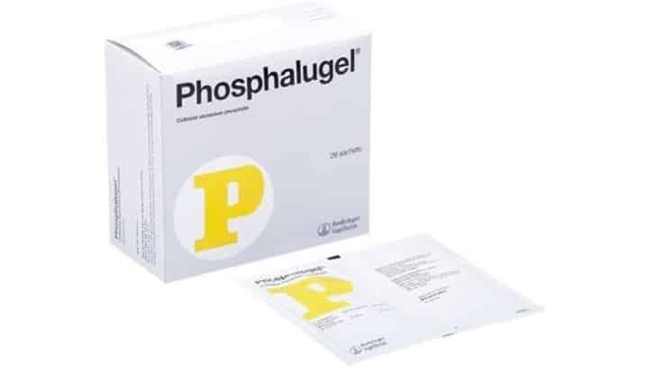 Hình ảnh bao bì thuốc dạ dày chữ P Phosphalugel