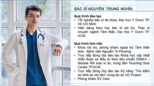 Bác sĩ Nguyễn Trung Nghĩa