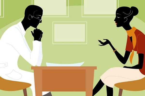 Hãy thử trò chuyện với các nhà trị liệu về tình trạng của mình