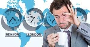 Jet lag có thể xảy ra khi chu kì thức ngủ bị xáo trộn