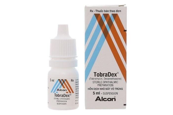 Thuốc nhỏ mắt Tobradex