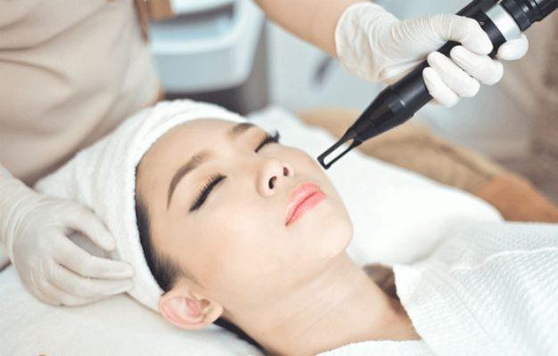 Dùng phương pháp thẩm mỹ điều trị nám da?