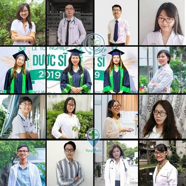 Một số bác sĩ, dược sĩ tham vấn y khoa cho YouMed Healthcare Content