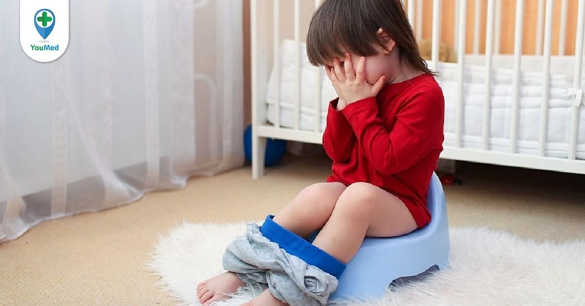 Cách trị đái dầm ở trẻ em