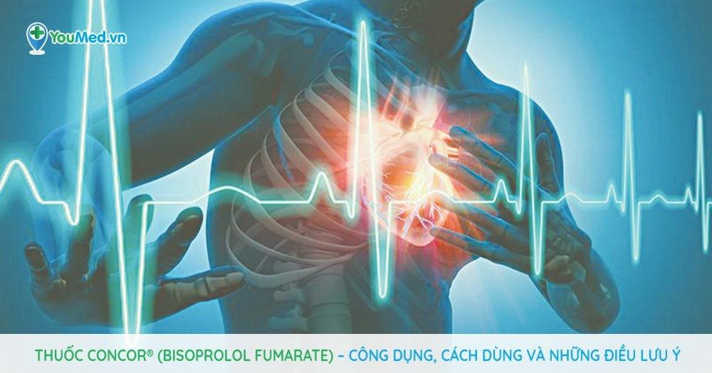 Những điều cần biết về thuốc Concor® (Bisoprolol fumarate)