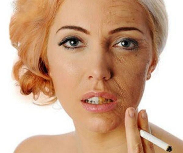 Cai thuốc lá làm giảm quá trình lão hóa da