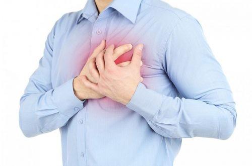 đau ngực có thể là triệu chứng của rung nhĩ