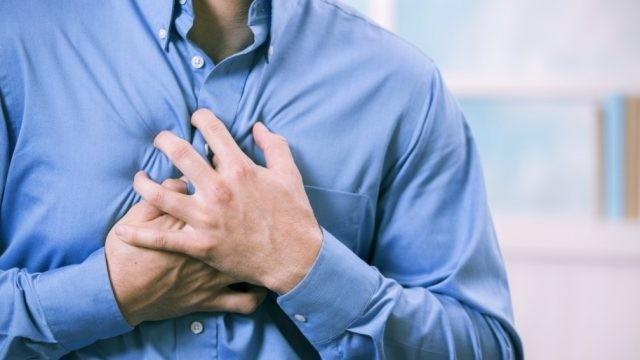 Đau thắt ngực là triệu chứng then chốt trong thiếu máu cơ tim.