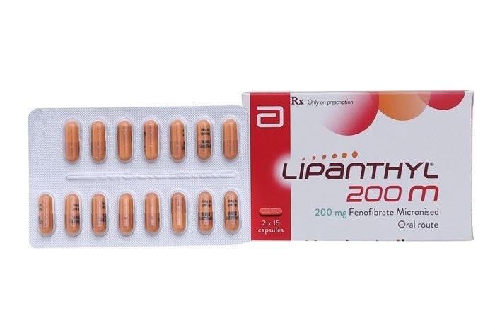 Thuốc Lipanthyl dạng viên nang