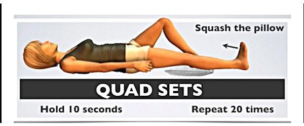 Tập gấp bàn chân để trị giãn dây chằng đầu gối