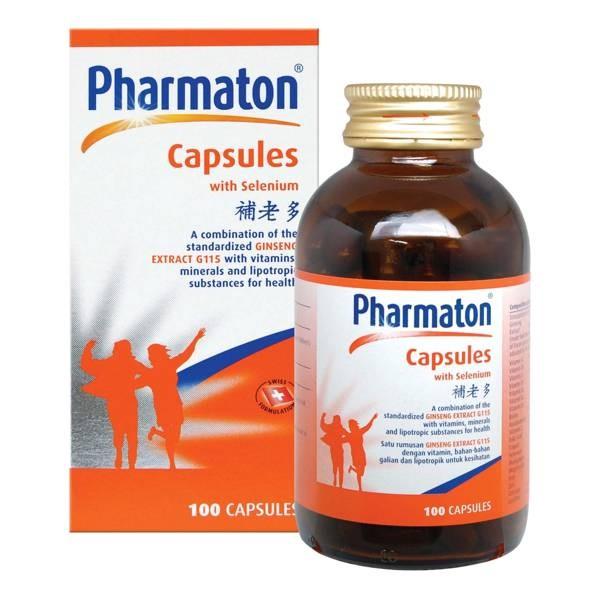Viên nang Pharmaton