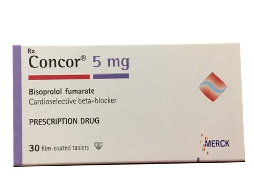 thuốc Concor® (Bisoprolol fumarate)