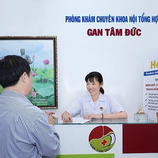Phòng khám Gan Tâm Đức là một trong những địa chỉ khám chữa gan uy tín tại TP.HCM