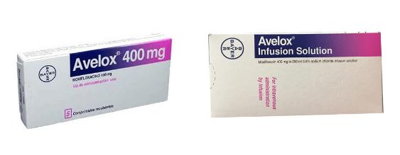 Thuốc moxifloxacin (Avelox)