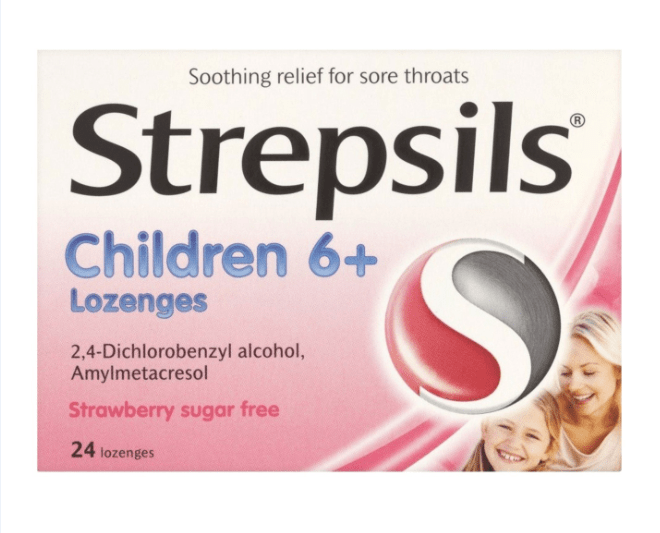Strepsils Children 6+ Lozenges