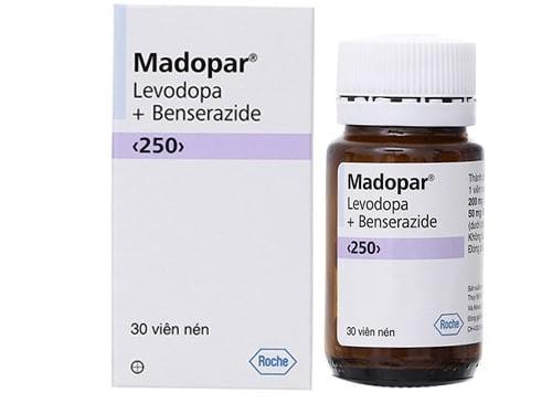 Thuốc Madopar (levodopa) điều trị bệnh Parkinson