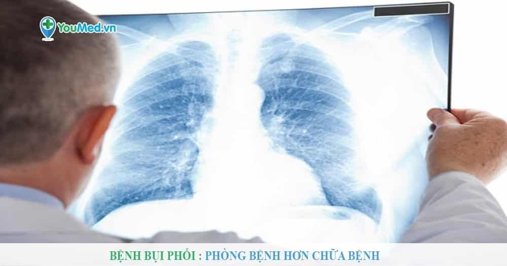 Bệnh bụi phổi - Phòng bệnh hơn chữa bệnh