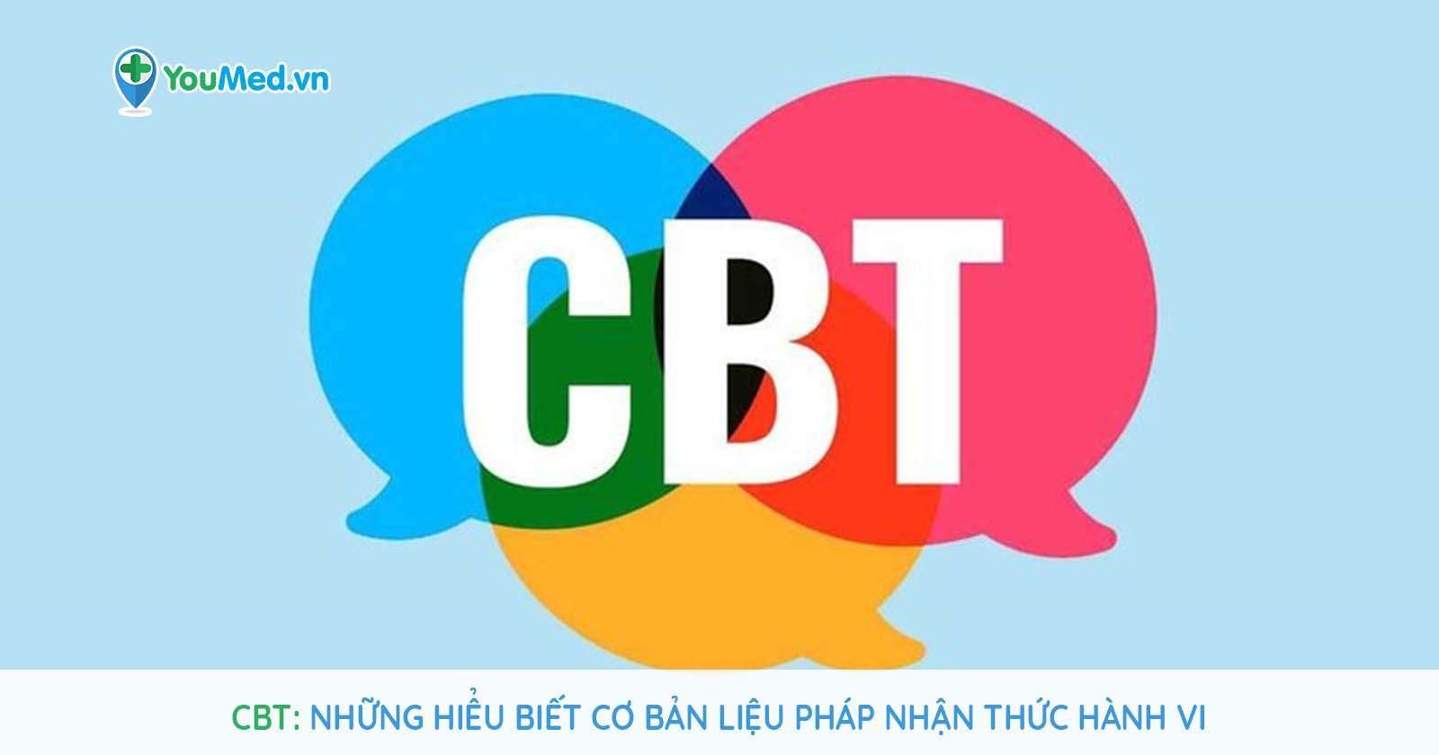 CBT: Những hiểu biết cơ bản liệu pháp nhận thức hành vi
