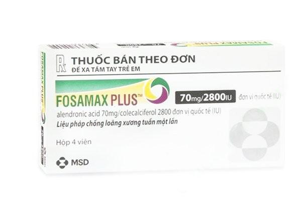 Fosamax Plus là thuốc điều trị bệnh gì