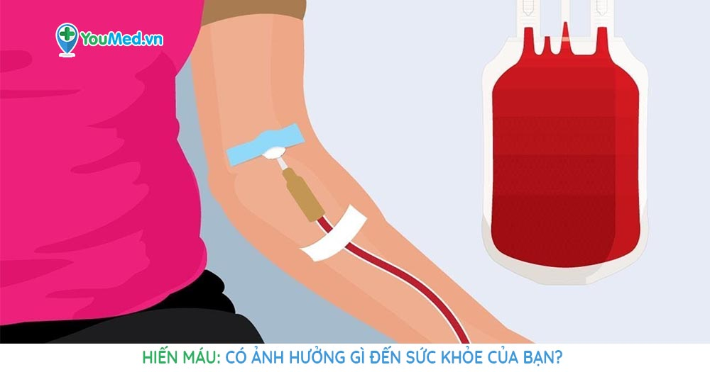 Hiến máu có ảnh hưởng gì đến sức khoẻ của bạn?