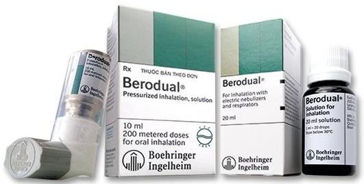 Thuốc Berodual có tác dụng giãn phế quản