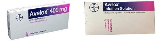 Thuốc Moxifloxacin với 2 loại bào chế