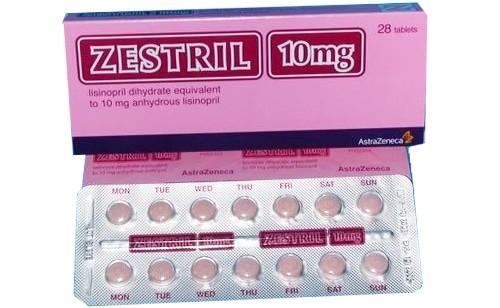 Thuốc zestril 10mg