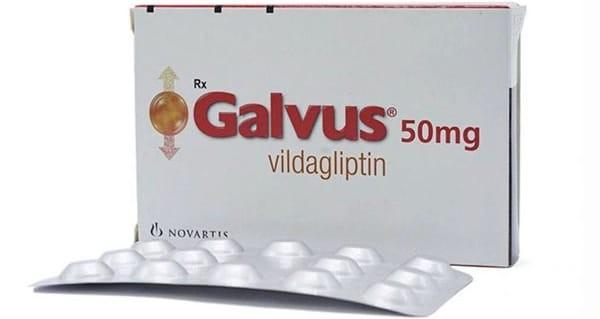 Thuốc Galvus (vildagliptin) dùng để điều trị bệnh đái tháo đường loại 2