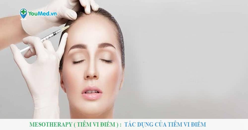 Mesotherapy ( tiêm vi điểm ) : Tác dụng của tiêm vi điểm