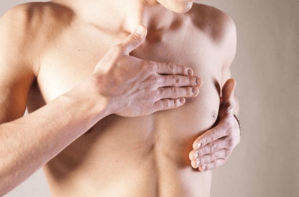 Tác dụng phụ vú sưng to hoặc đau