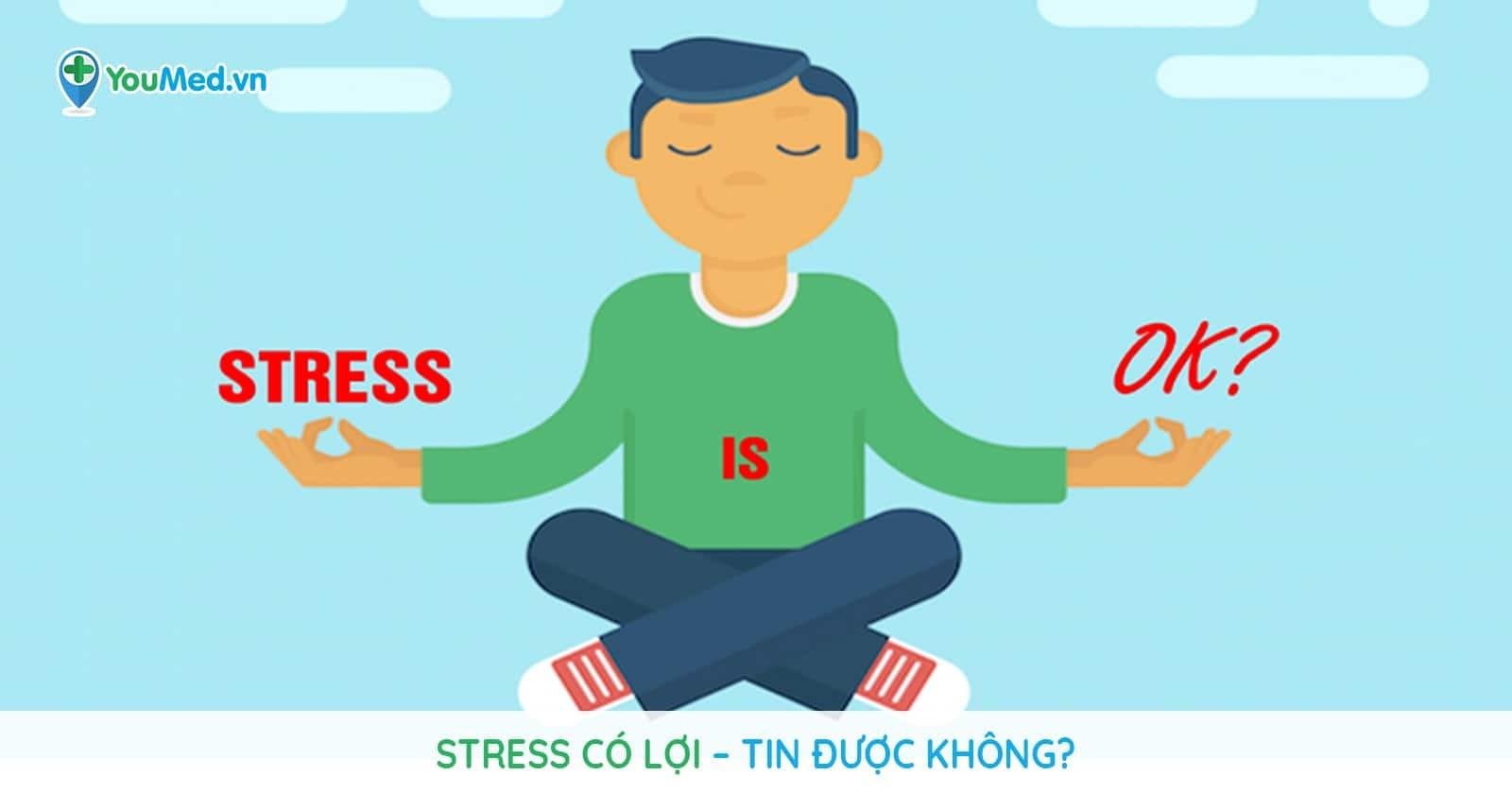 Stress có lợi – tin được không?