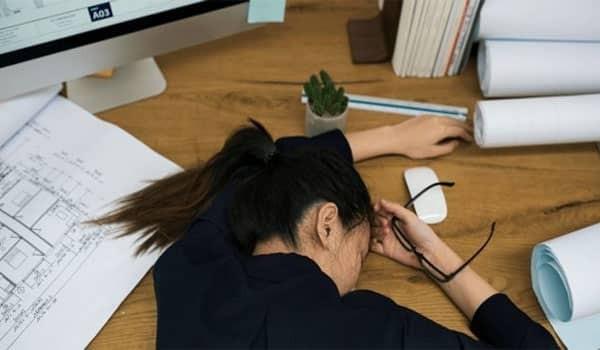 Stress gây mệt mỏi
