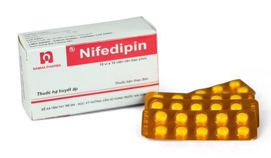 Thuốc Nifedipin