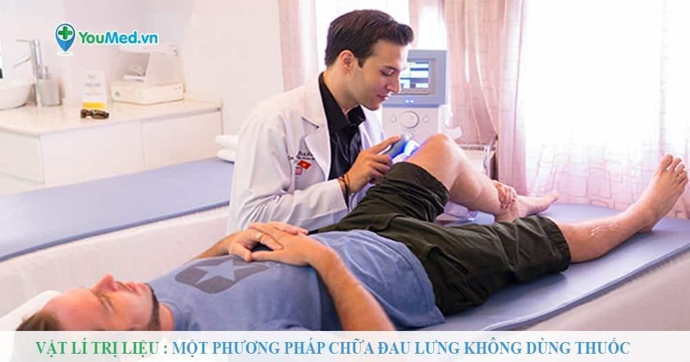 Vật lí trị liệu: Một phương pháp chữa đau lưng không dùng thuốc