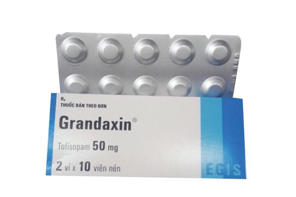 thuốc điều trị lo âu Grandaxin (tofisopam)