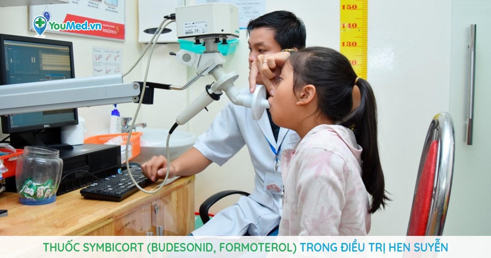 Thuốc Symbicort (budesonid, formoterol) trong điều trị hen suyễn và những điều cần lưu ý