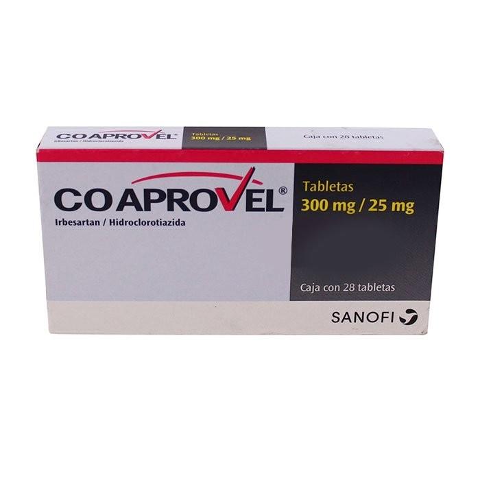thuốc kiểm soát huyết áp Co aprovel (irbesartan/hydrochlorthiazide)
