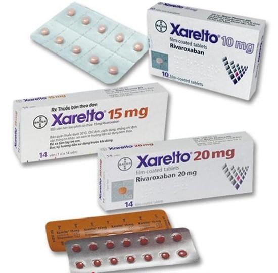Thuốc Rivaroxaban (Xarelto)